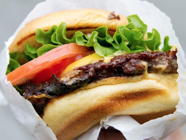 シェイク・シャックのグルメハンバーガー