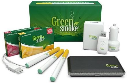 電子タバコのグリーン・スモーク