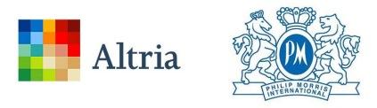アルトリアグループとフィリップモリス・インターナショナルとの電子タバコでの協業