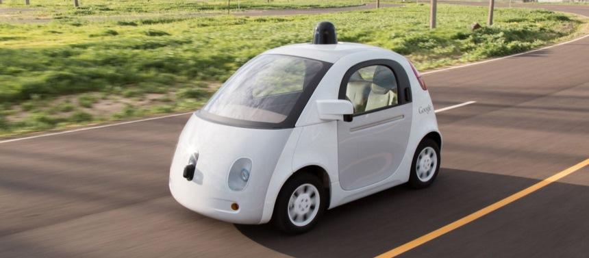 グーグルの自動運転車(セルフドライビングカー)