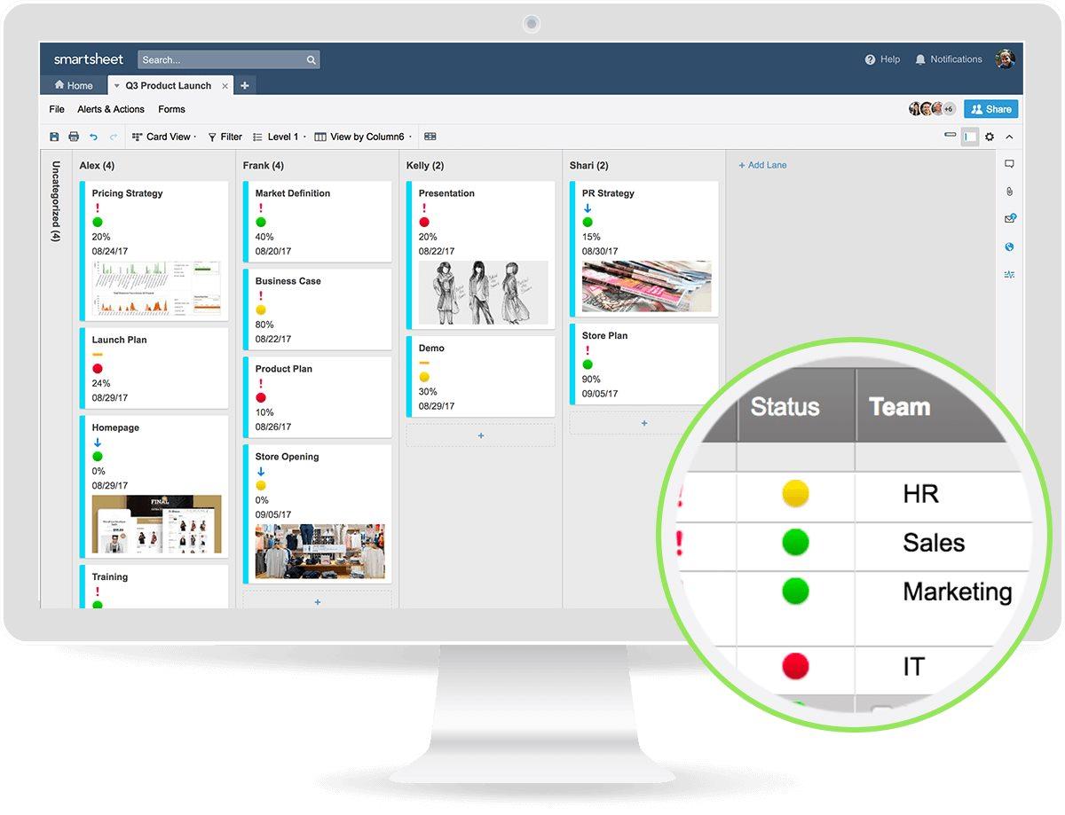 Smartsheet-Product