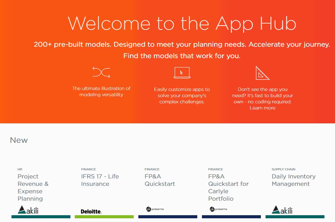 Anaplan-App-Hub