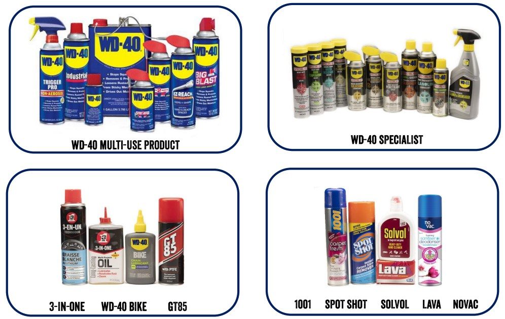 WD-40_Product-line